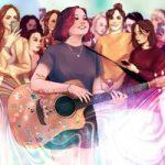 Алёна Швец — мелкая с гитарой
